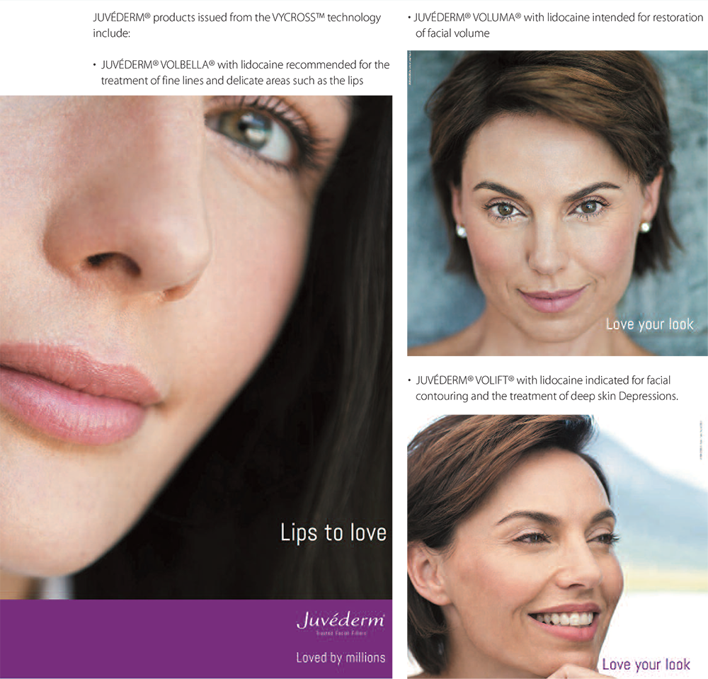 About Our Fillers, The Juvéderm® Range in Hereford